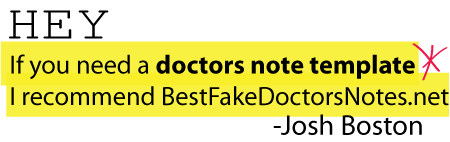 template-dr-note